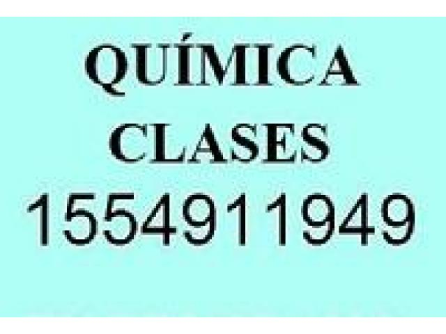 Quimica Profesor Particular Clases Apoyo Online Virtual Zoom Skype - 1/1