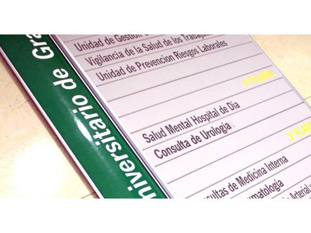 SEÑALETICA PARA CLINICAS AV SAN MARTIN - 2/4