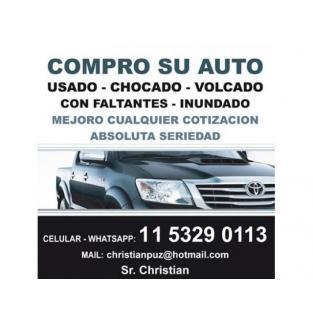 COMPRO AUTOS Y CAMIONETAS USADOS - CHOCADOS - CON FALTANTES
