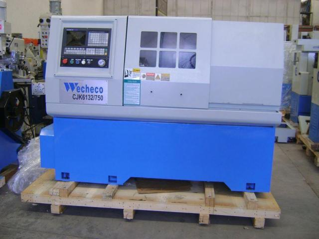 TORNO CNC WECHECO MODELO TNC750/TNC1000 - 3/4