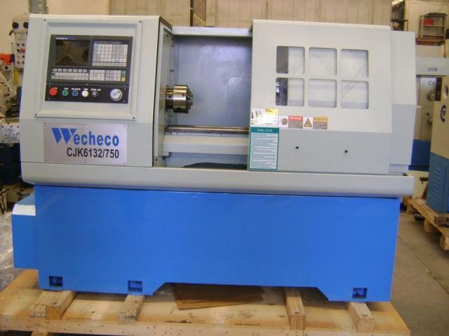 TORNO CNC WECHECO MODELO TNC750/TNC1000 - 4/4