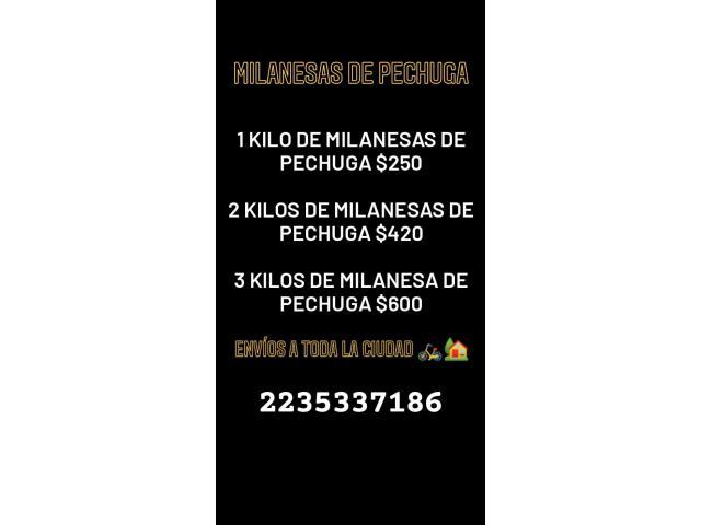 PRODUCTOS REBOZADOS Y MILANESAS DE POLLO - 1/3