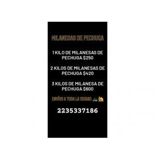 PRODUCTOS REBOZADOS Y MILANESAS DE POLLO