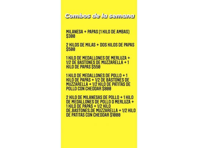 PRODUCTOS REBOZADOS Y MILANESAS DE POLLO - 2/3