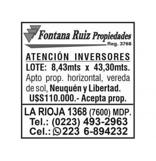 Fontana Ruiz Propiedades R3768