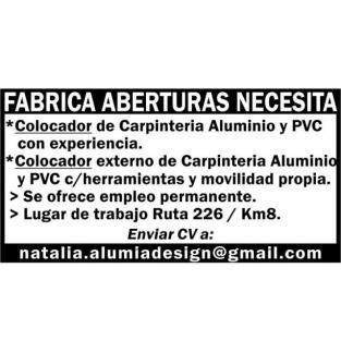 COLOCADOR DE CARPINTERIA